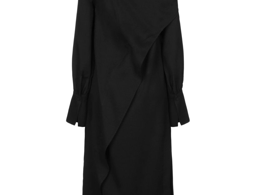 ERIKA CAVALLINI BLACK DRESS