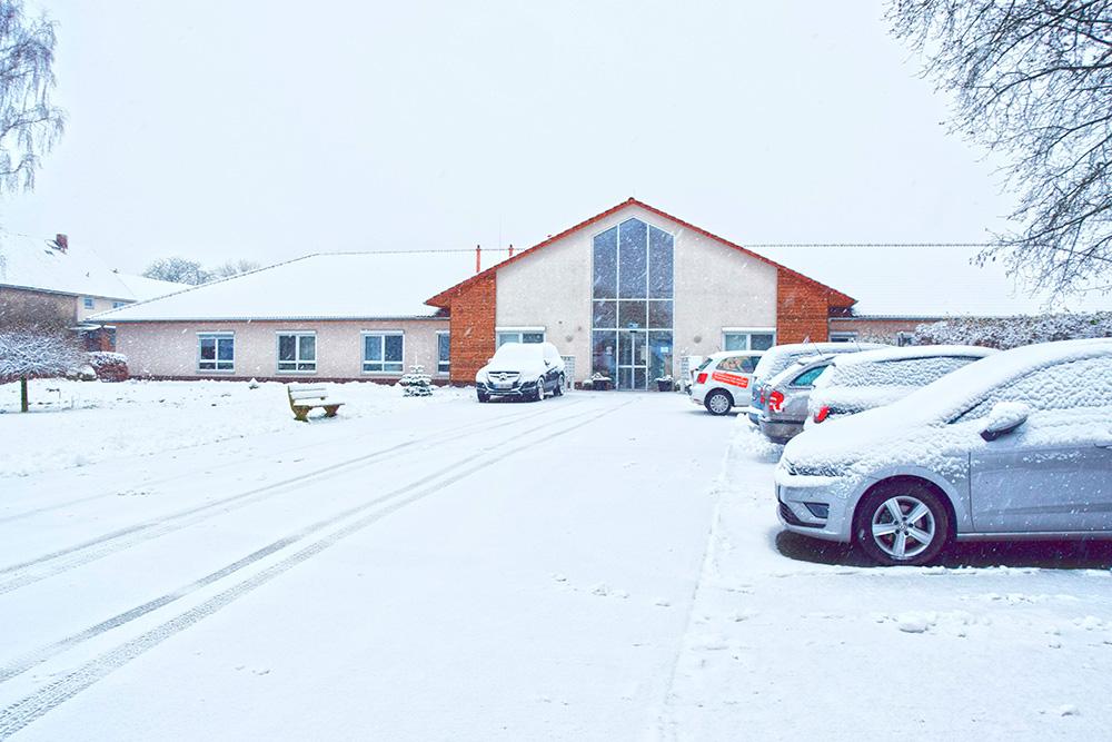 HD Schnee Betreutes Wohnen