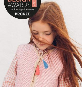 BEST INTERNATIONAL FASHION BRAND- JUNIOR DESIGN AWARDS 2019
