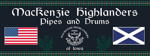 MacKenzie Highlanders Pipes and Drums of Iowa