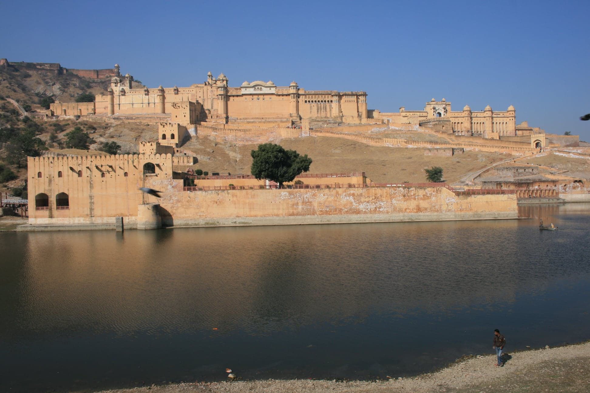 Image result for amer fort maoto lake