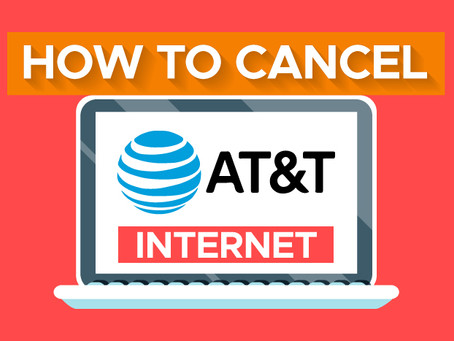 How to Cancel AT&T Internet