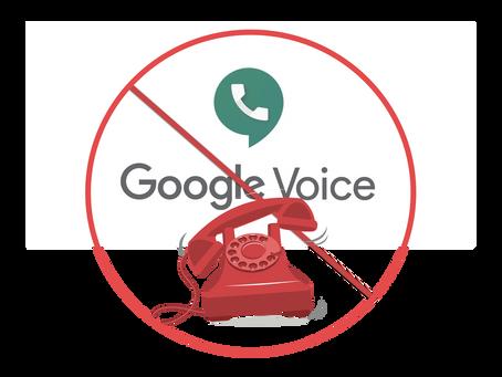 Alternatives to Google Voice for Porting a Landline Number