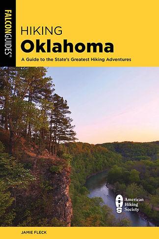Hiking Oklahoma - Jamie Fleck (Front Cov