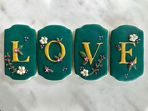 Sakura Spring Love Monogram Cookies.JPG
