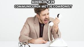 Miniblog #39 tips voor filmmakers deel 2. Regisseurs: zo communiceer je met je componist.⠀