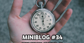 Miniblog #34 timing deel 3: hit points