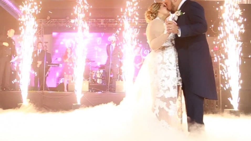 Cold sparkular hire, wedding fire works, cold fireworks