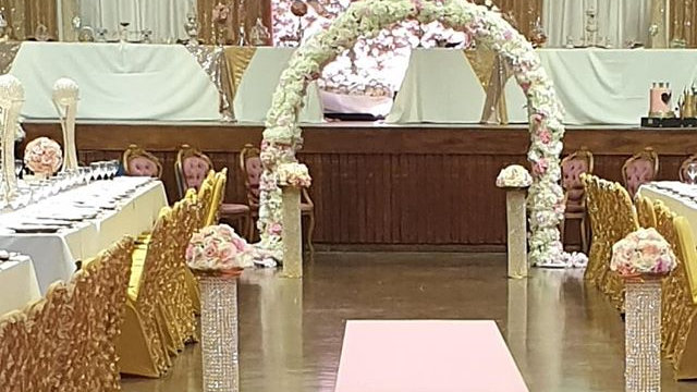 Floral arch available for hire, flower arch