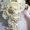 Thumbnail: Bride teardrop bouquet, orchids bouquet, brooch bouquet
