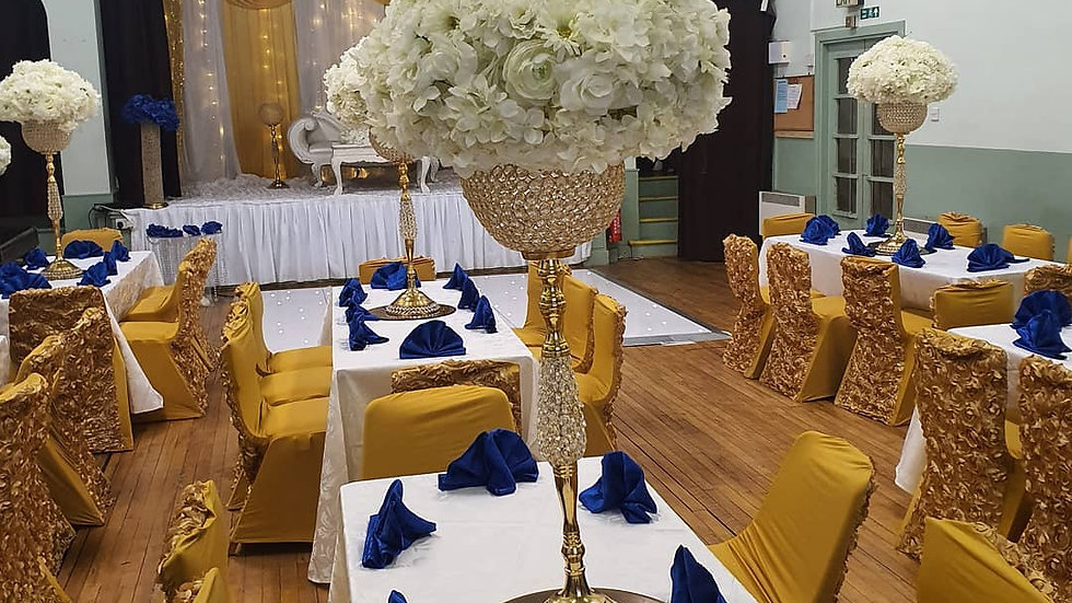 wedding centre pieces, GOLD beaded globe centrepiece for hire
