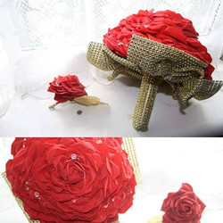 Glamelia bouquet available with matching
