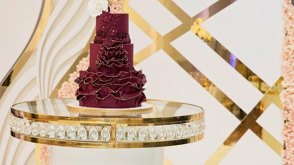 Cake table / sweetheart table available for hire