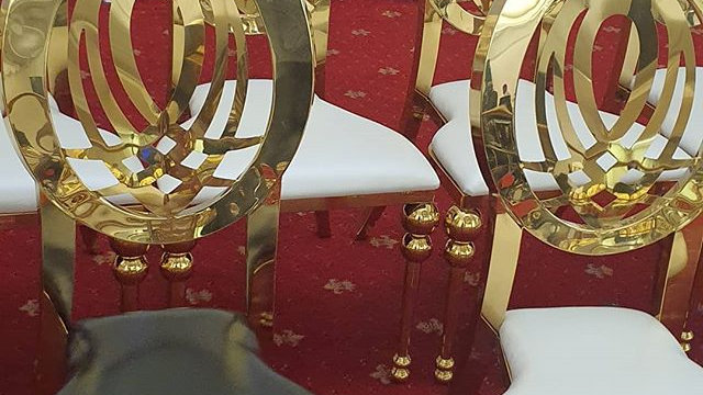 Infinity chairs for hire