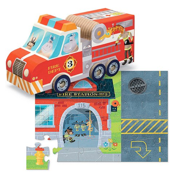 Fire Truck Play Set Puzzle