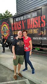 Guns n Roses concert in Singapore 2017