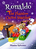 Ronaldo: The Phantom Carrot Snatcher kids book cover.