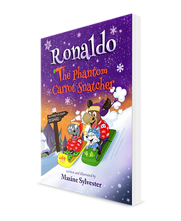 Ronaldo Children's Book - The Phantom Carrot Snatcher by award winning author Maxine Sylvester