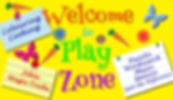 Welcome Banner to Ronaldo the Flying Reindeer Children's Play Area