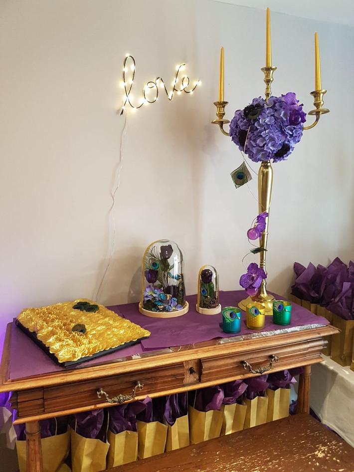 decor de chandelier