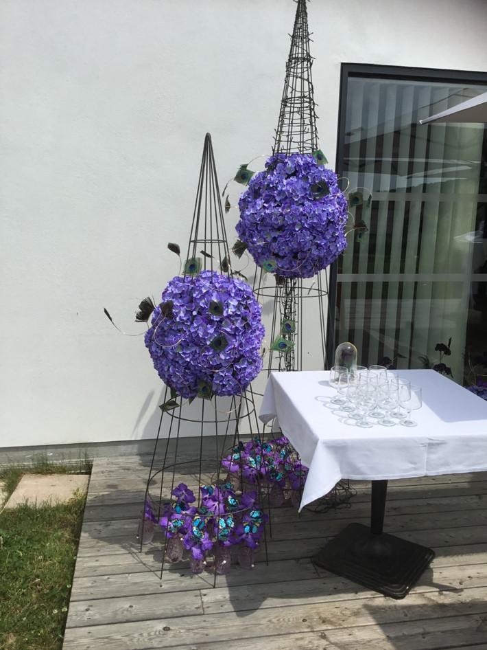 decoration vin d'honneur