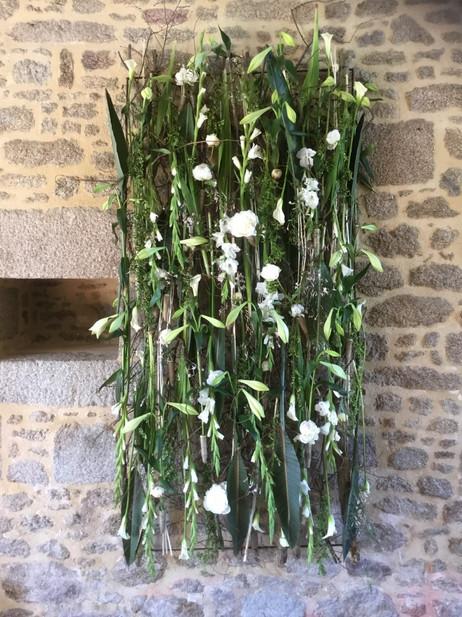 paravent de fleurs