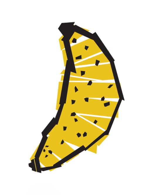 Sticker - Collection Salade de fruits - La banane