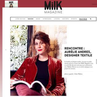 MILK MAGAZINE / FR