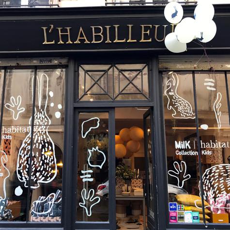 MILK & HABITAT POP UP  PARIS