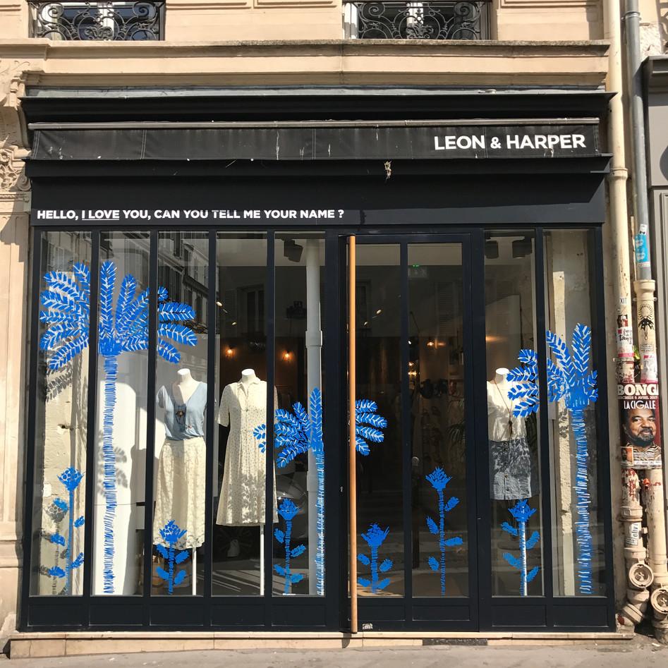 LEON & HARPER 4 BOUTIQUES  PARIS