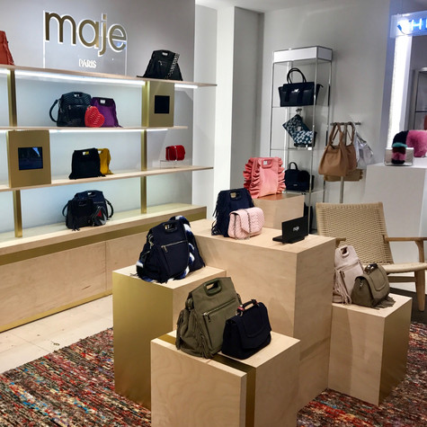 MAJE BLOOMINGDALES NYC POP UP CRÉATION MOBILIER
