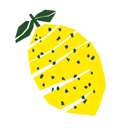 Sticker - Collection Salade de fruits - Le citron