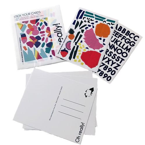 Cartes Postales Fleurs - Flowers Stick Your Cards