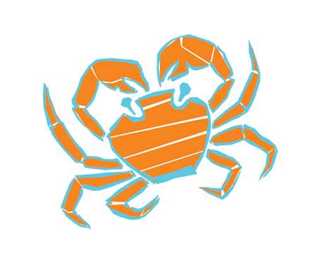 Sticker - Collection Mer - La crabe