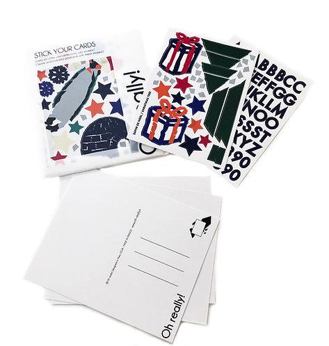 Cartes Postales Noël - Christmas Stick Your Cards