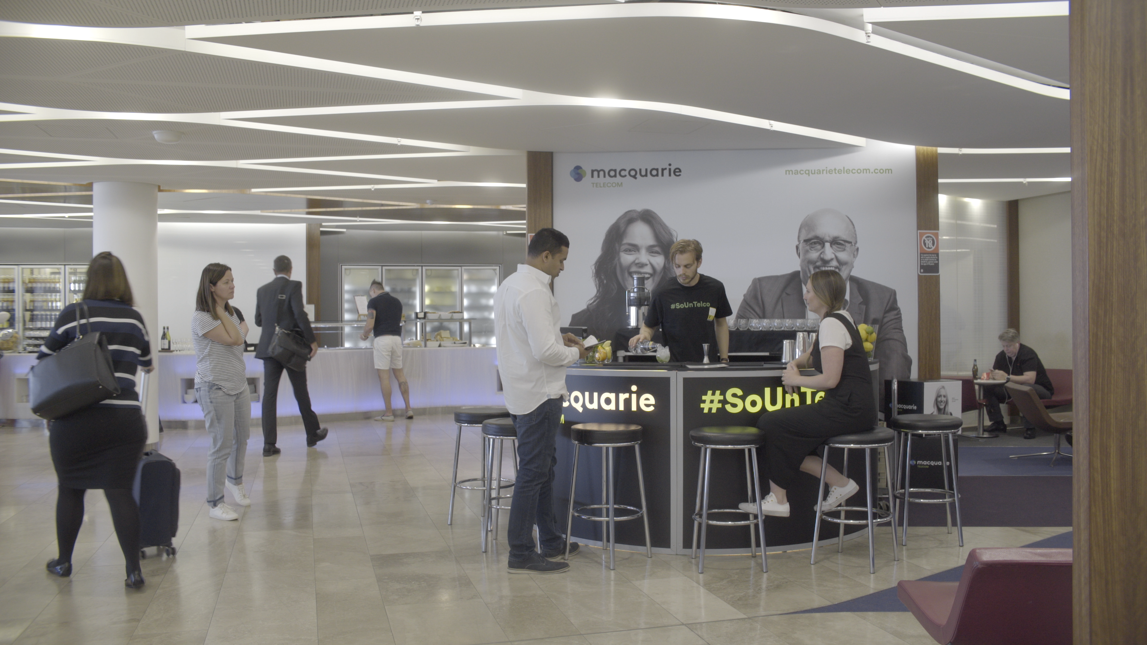 Macquarie Telecom SoUnTelco Bar
