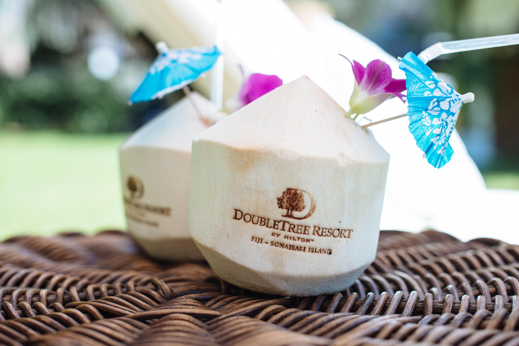 DoubleTree Fiji Branded Coconut