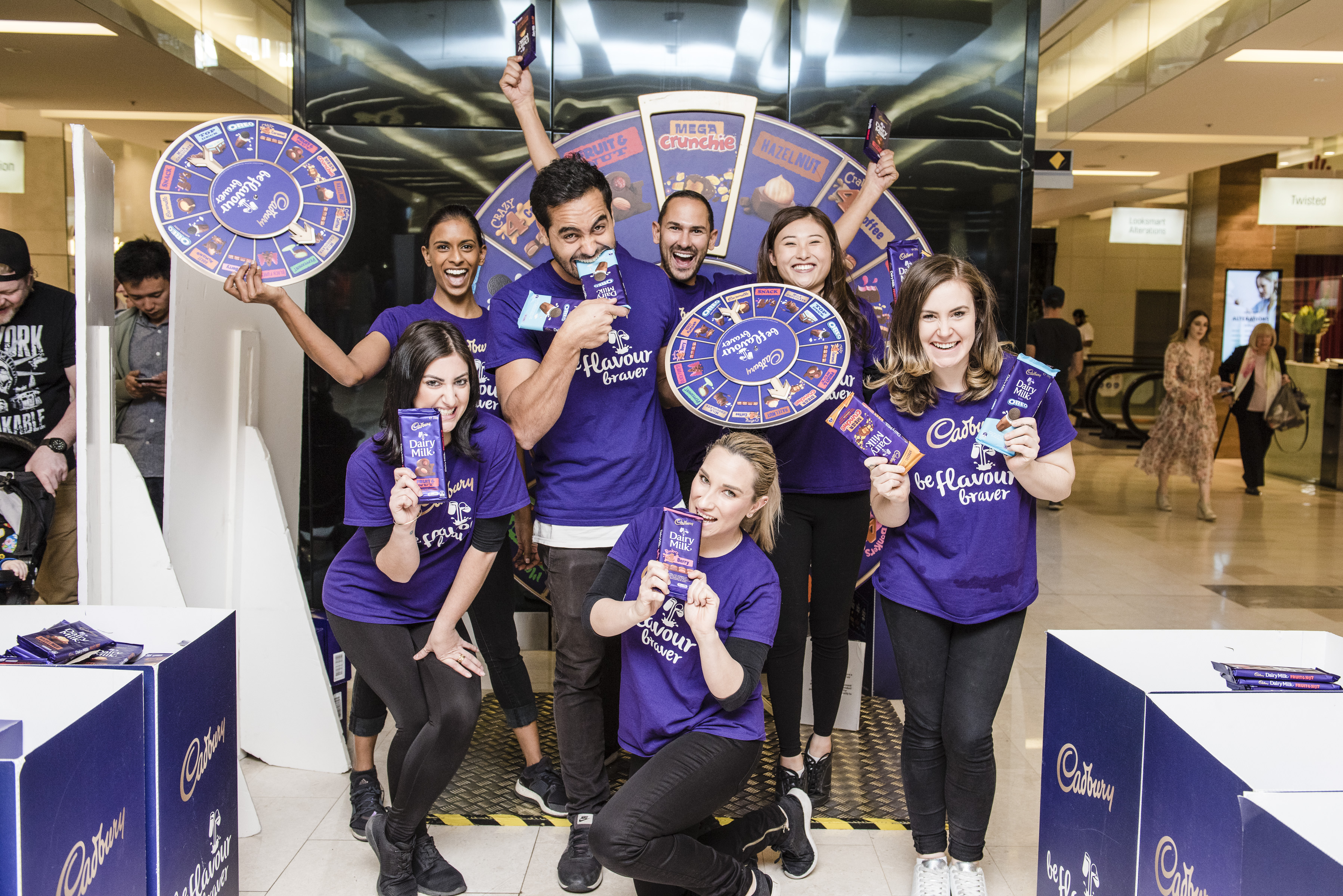 Cadbury Flavour Braver Team