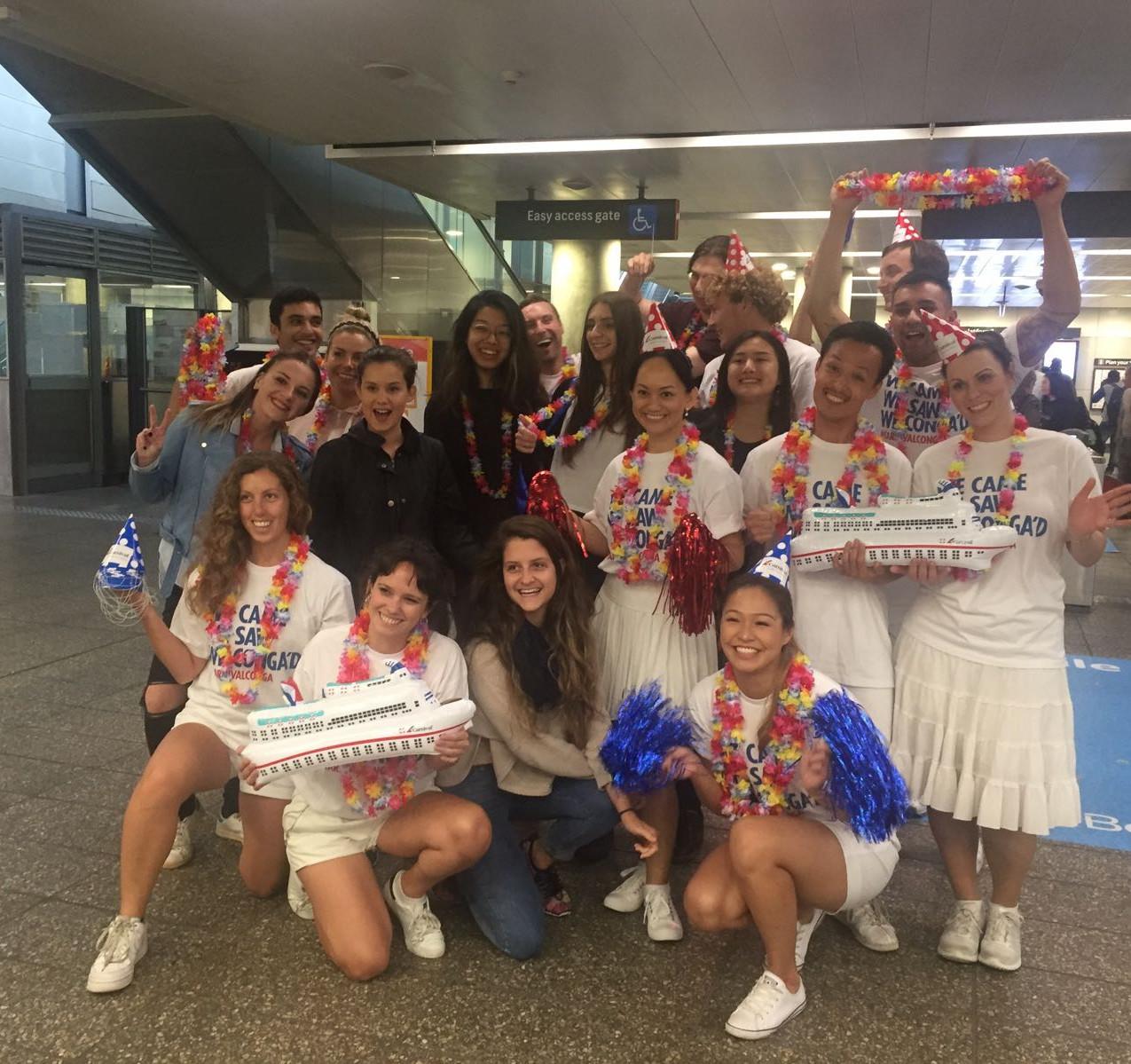 Carnival Cruises Conga Line