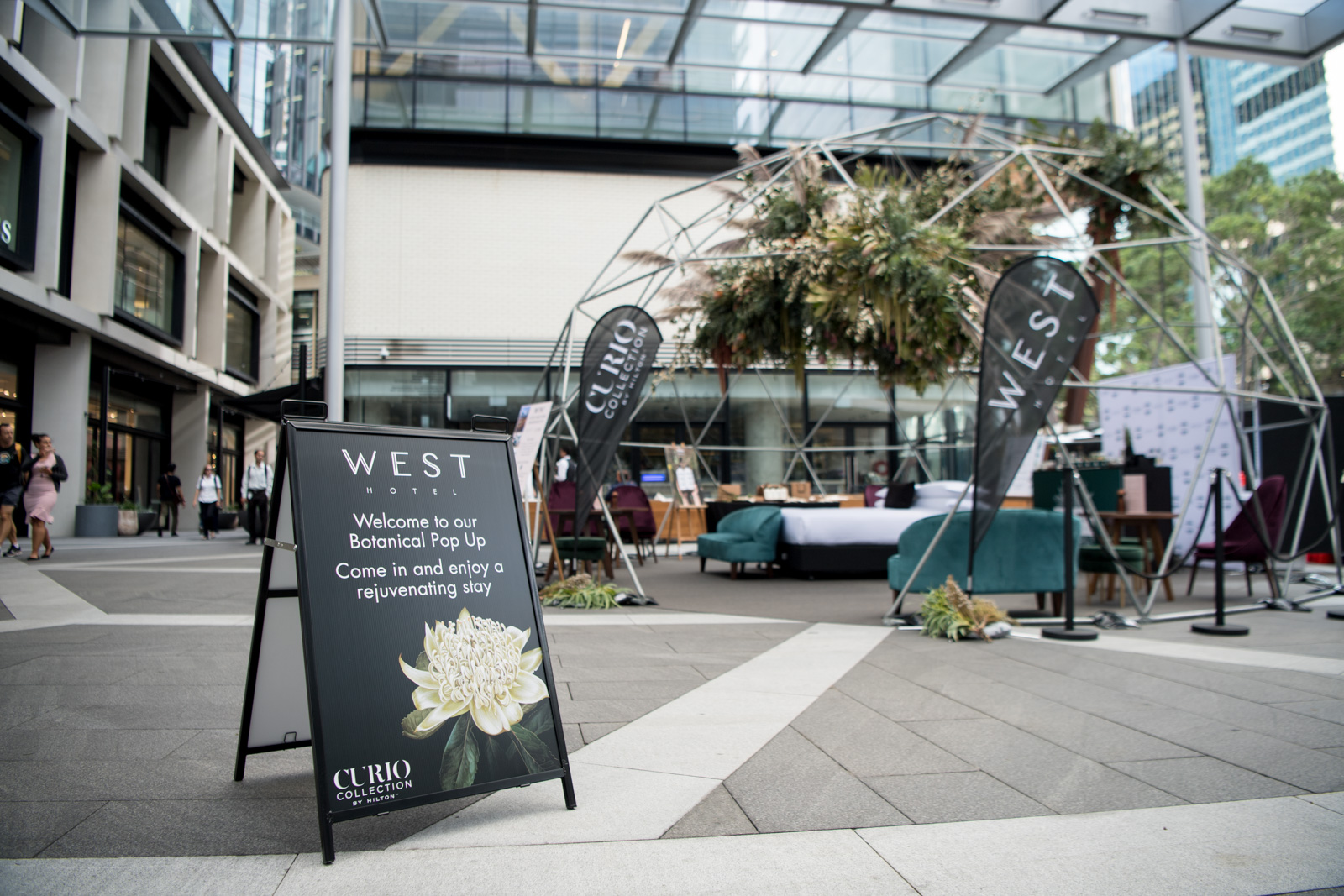 West Hotel Pop Up