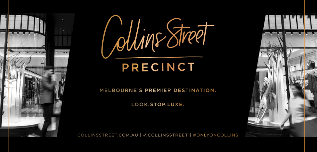Collins Street Artwork