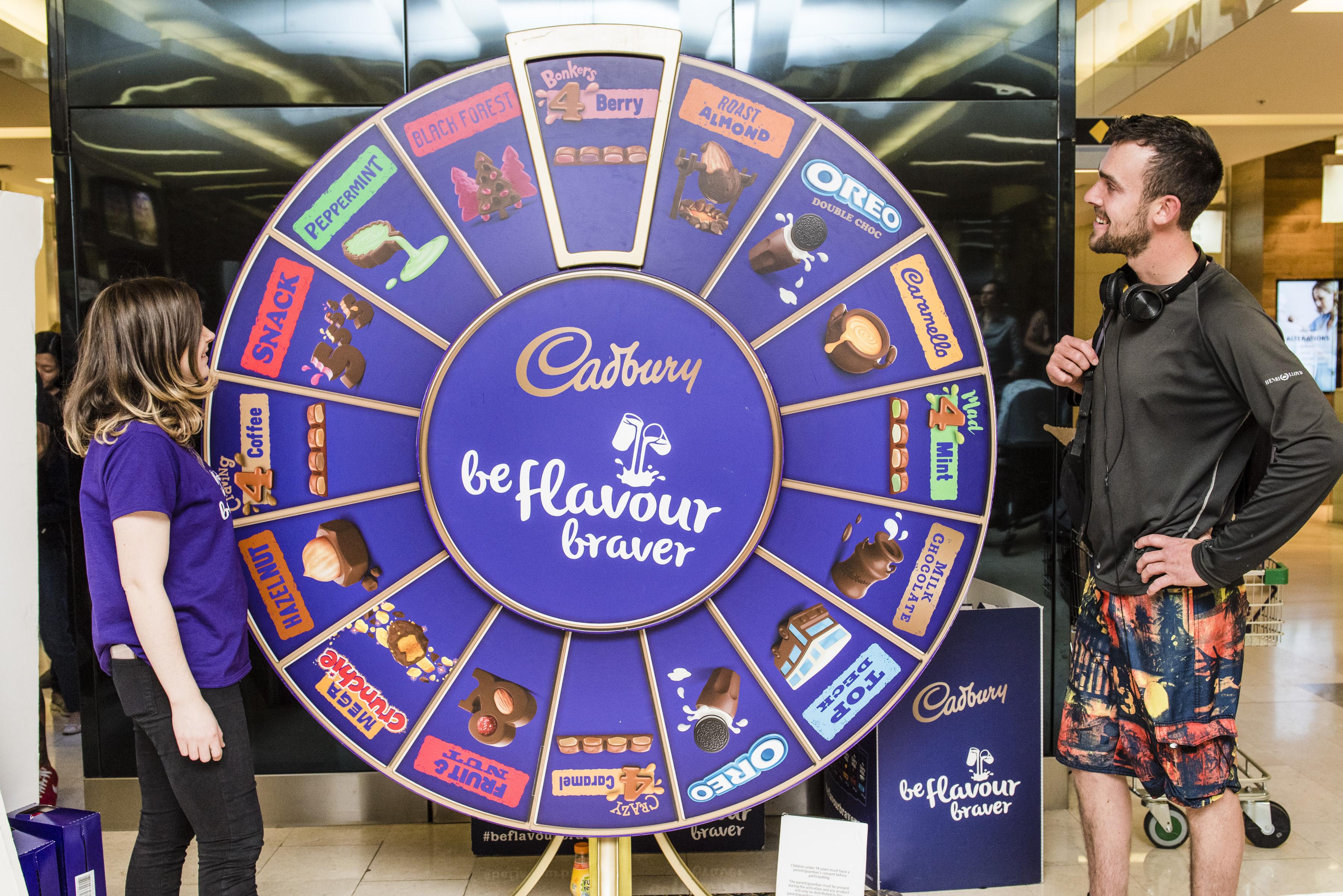 Cadbury Flavour Braver Roadshow