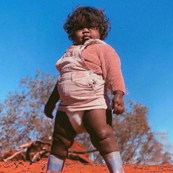Baby Sam from Alice Springs