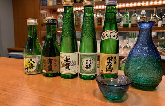 日本酒もあります