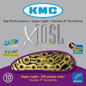 Chaîne KMC X10 SL  GOLD