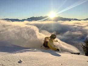 across the alp