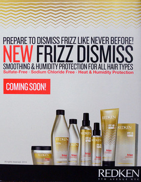Redkin's New Frizz Control... Coming Soon!
