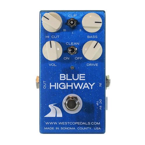 BLUE HIGHWAY - Transparent Boost / Overdrive