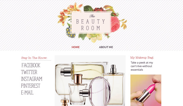 Fashion & Accessories website templates – Beauty Blog
