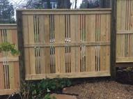 Japanese Style Fence Asheville